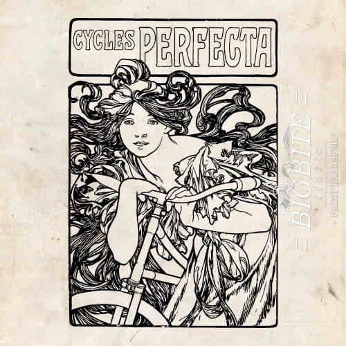 Art Nouveau Stencil - Cycles Perfecta Alphonse Mucha - main preview
