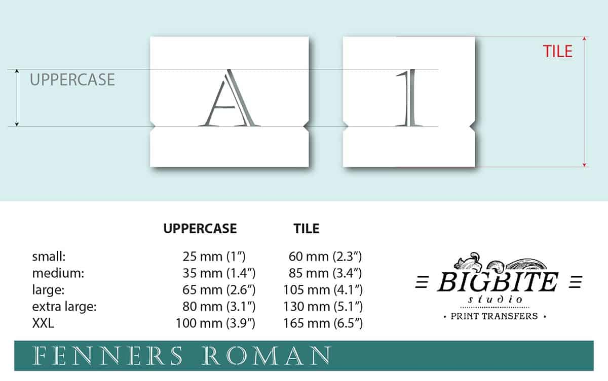 Stenciled Letters - Delicate Font Fenners Roman