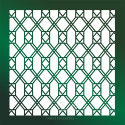 Decor pattern stencil: Window Glass Trellis 02 #067