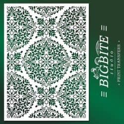 Main Preview Floral Mandala Stencil Pattern