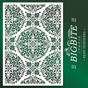 Floral Mandala Stencil Pattern #081