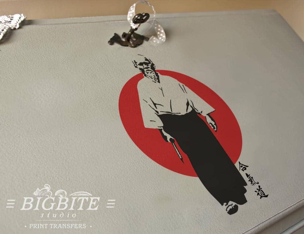 Oriental Transfer - Aikido Founder, Morihei Ueshiba - preview on the bureau