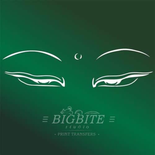 Buddha's Loving Eyes Stencils
