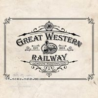 Vintage Print Transfer - Great Western Railway Advert - main image