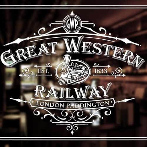 Vintage Print Transfer - Great Western Railway Advert preview mirror