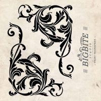 Acanthus Corner Scroll: Vintage Water Decal