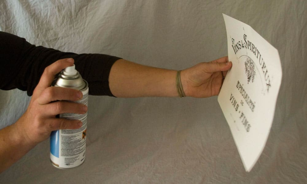 Protecting with a varnish - Blank Water Decal Paper Sheets Print Transfers - tutorial