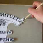 Marking the spot - Blank Water Decal Paper Sheets Print Transfers - tutorial