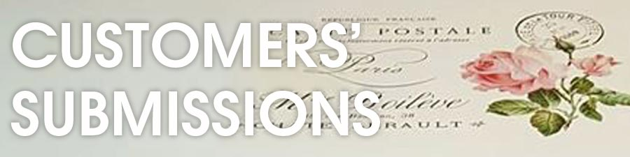 Customers' Submissions Banner - Blank Water Decals