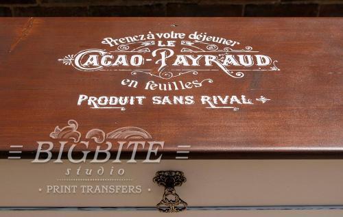 Screen printing:Cacao Payraud