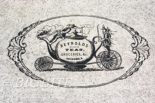 Screen printing:Reynolds Teas