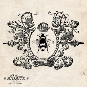 Shabby Chic Water Decal - Furniture Print Transfer, Queen Bee