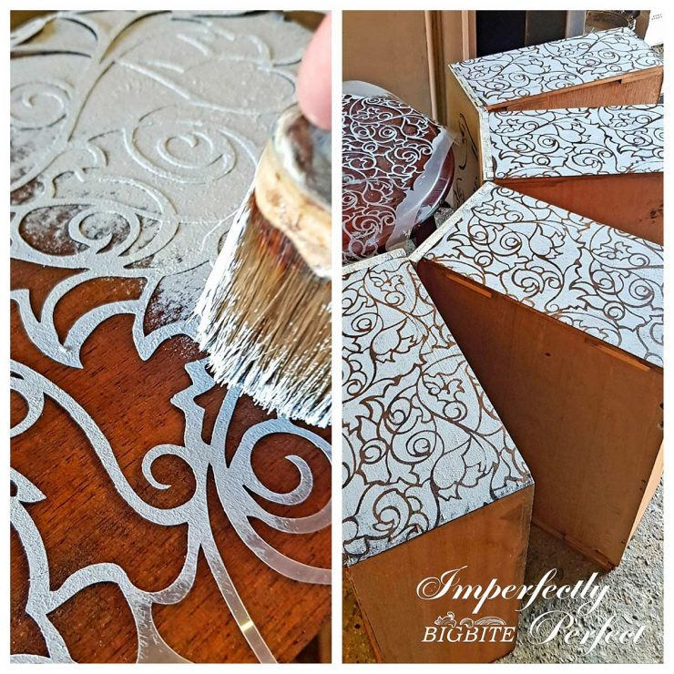 Perfect Stencilling - chalk paint techniques