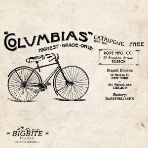 vintage bicycle advert